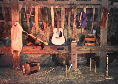 instruments etable